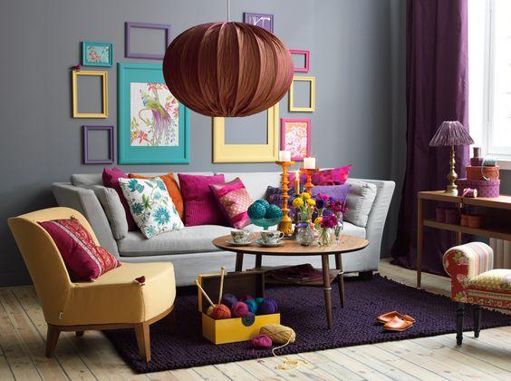 رنگ در طراحی ذاخلی خانه کوچک