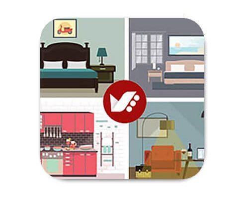 رنگ شناسی در طراحی داخلی خانه کوچک