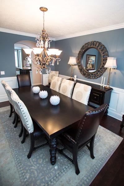 color in diningroom - طراحی ناهار خوری