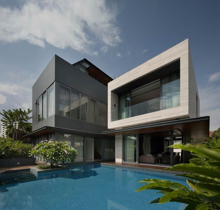 Modern Hous architecture - اقلیم و معماری