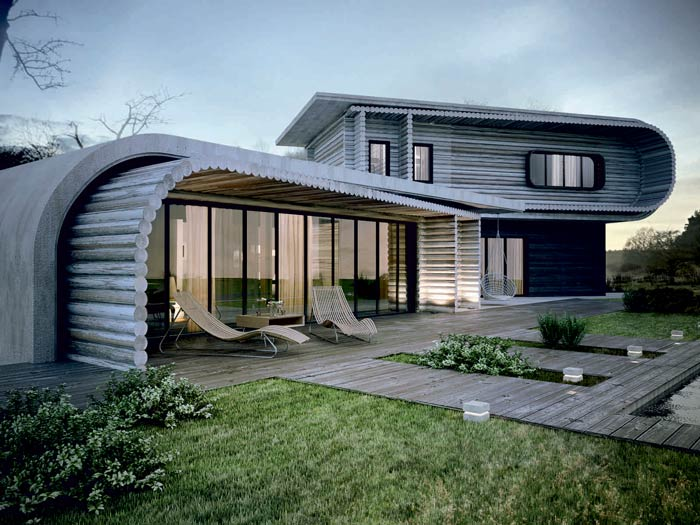 architectural house - اقلیم و معماری