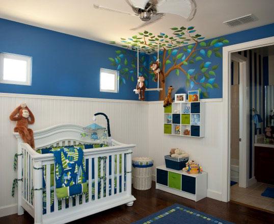 baby room design - تزیین سقف اتاق کودک