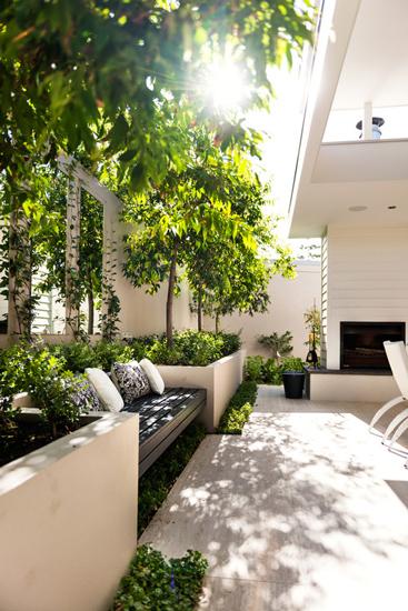 backyard e - طراحی حیاط و پاسیو