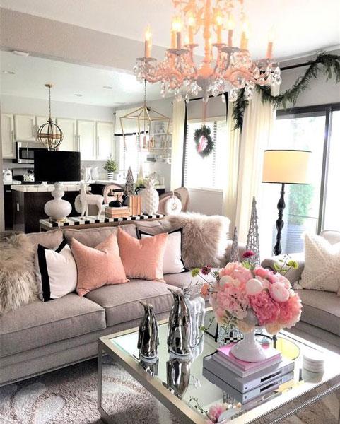 flower in home 3 - 8 روش جذاب برای استفاده از گل در محیط داخل خانه