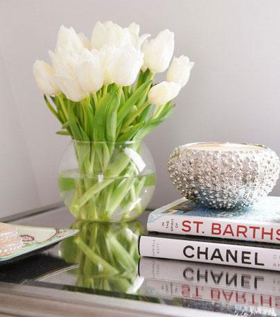 flower in home 6 - 8 روش جذاب برای استفاده از گل در محیط داخل خانه
