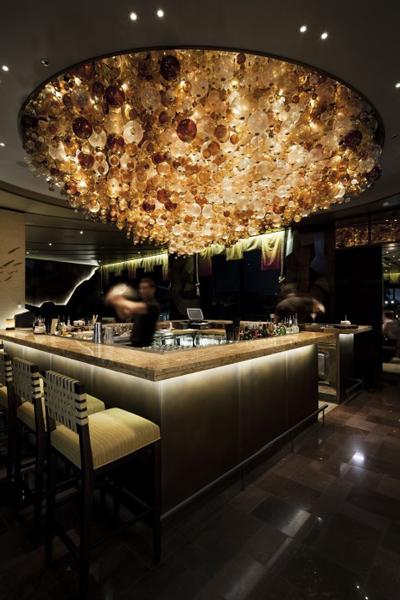 نورپردازی داخلی رستوران