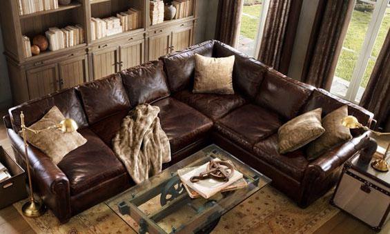 leather canape 5 - باورهای غلط دربارهی مبلهای چرمی + چند نکته مفید