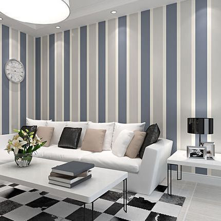 sitting room striped - 16 نکته طراحی دکوراسیون اتاق پذیرایی