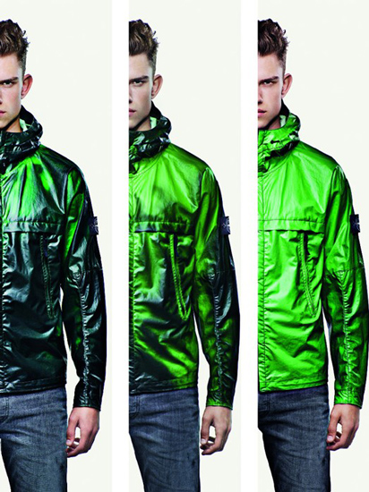 مواد هوشمند رنگ ترموکرومیک سبز