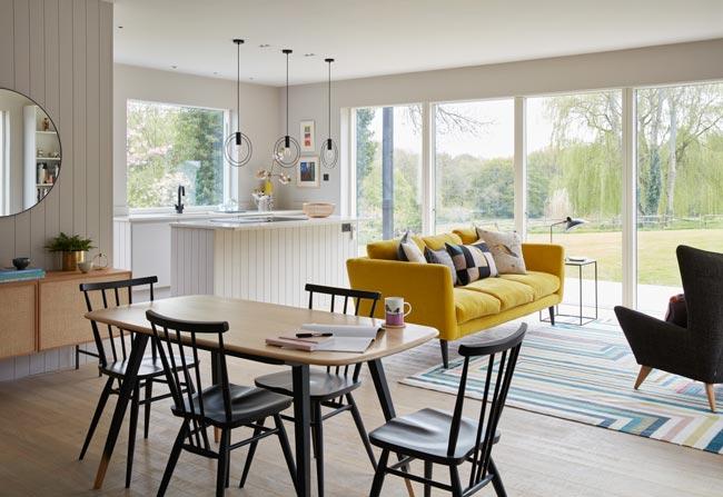 Main Overall livingroom - نکاتی در مورد دکوراسیون اتاق نشیمنِ دارای پلانِ باز