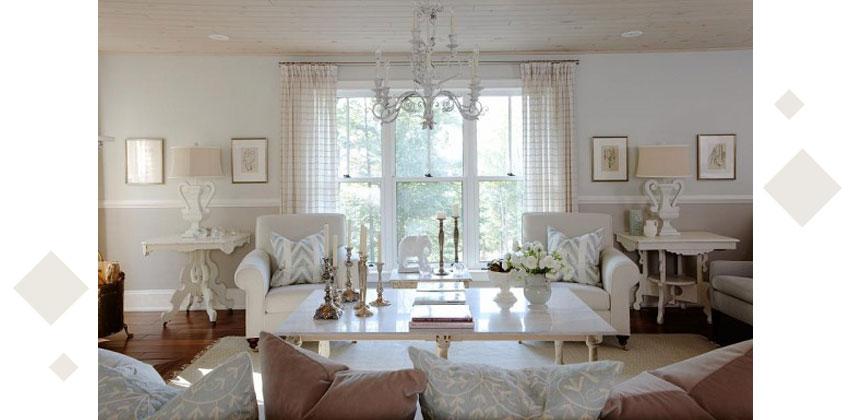 Styling Large Living Rooms 5 - دکوراسیون داخلی پذیرایی