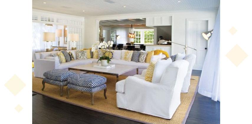 Styling Large Living Rooms 6 - دکوراسیون داخلی پذیرایی