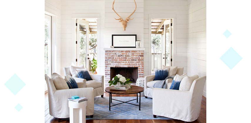 Styling Large Living Rooms 7 - دکوراسیون داخلی پذیرایی