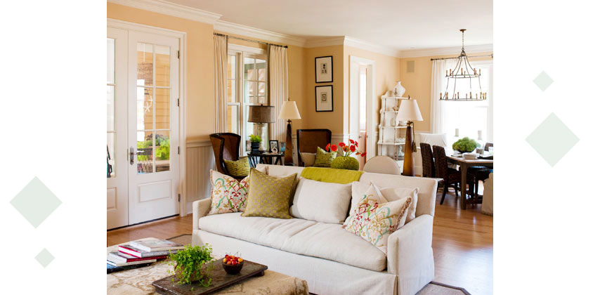 Styling Large Living Rooms 8 - دکوراسیون داخلی پذیرایی