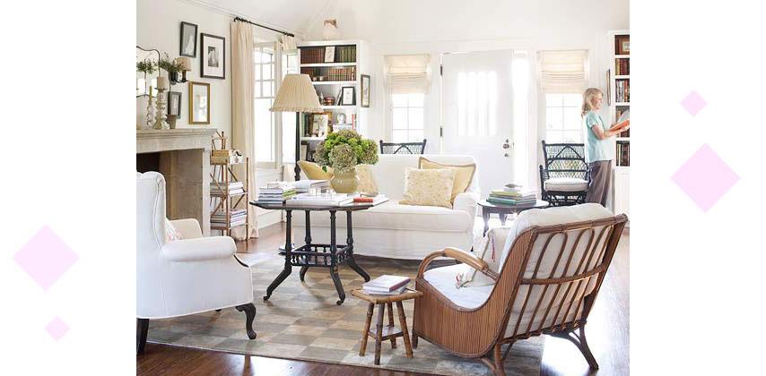 Styling Large Living Rooms 9 - دکوراسیون داخلی پذیرایی