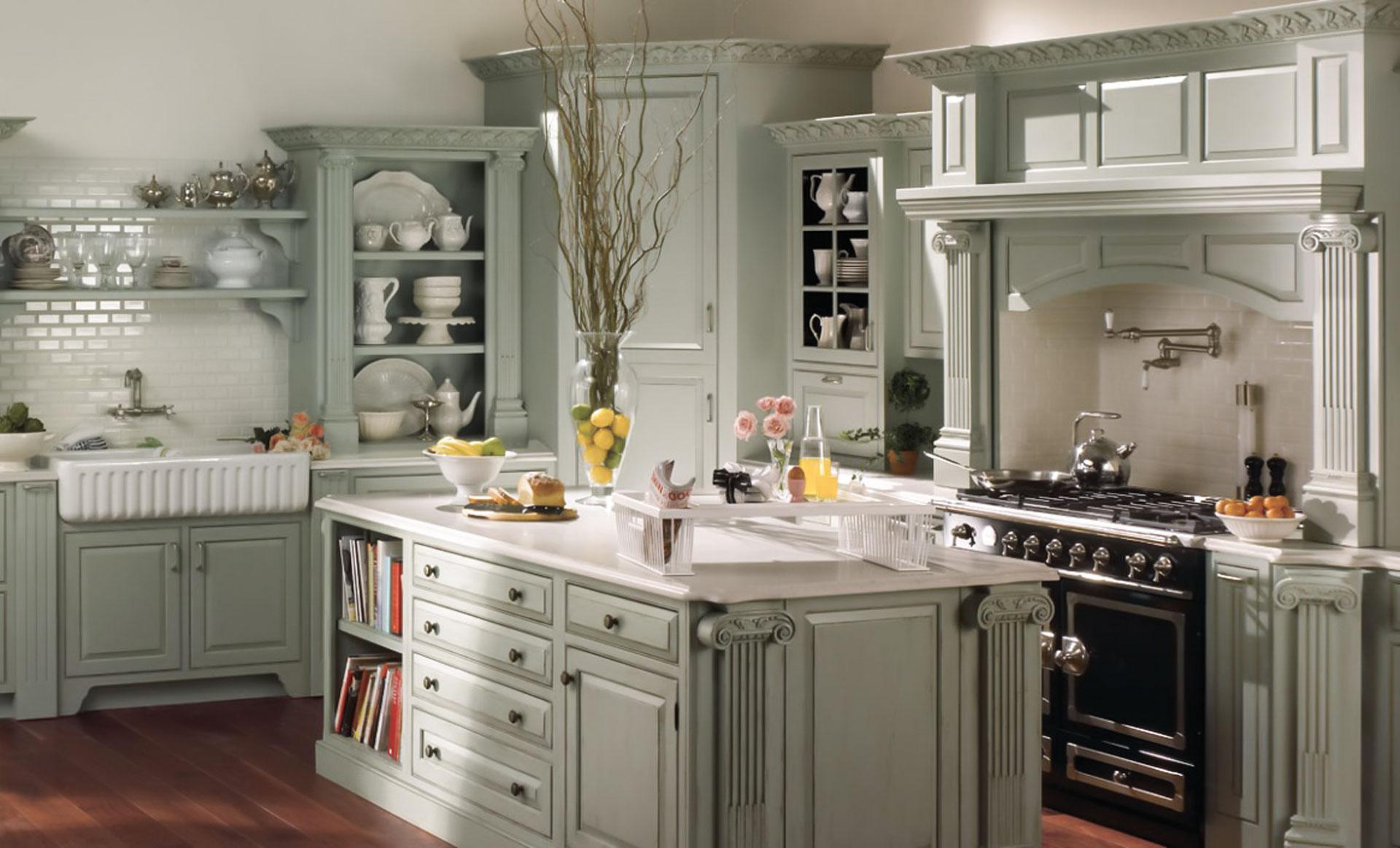 ferench english2 - تفاوت طراحی آشپزخانه فرانسوی با انگلیس