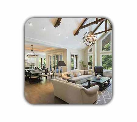 open kitchen plan shakhes 450x400 - دکوراسیون داخلی منزل