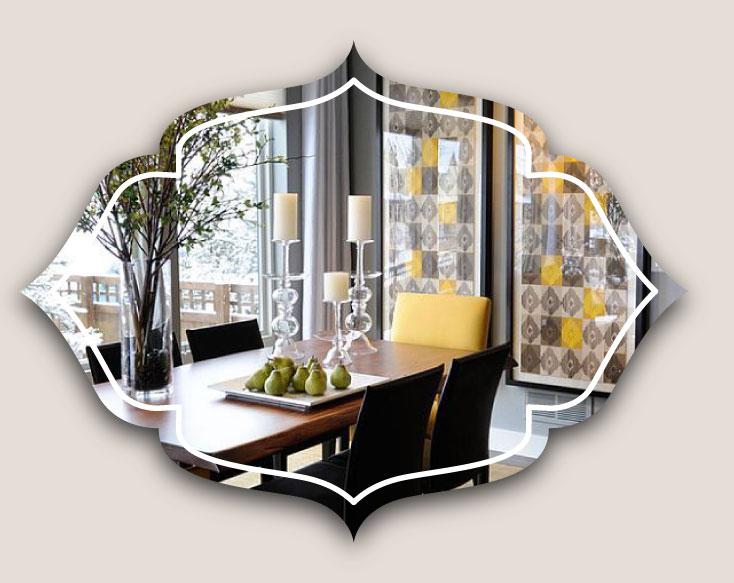 painting in dining room - ویژگی های دکوراسیون مناسب برای دیوار اتاق ناهارخوری