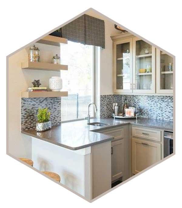 small kitchen 5 - دکوراسیون آشپزخانه کوچک