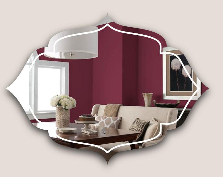 wall colour dining room - ویژگی های دکوراسیون مناسب برای دیوار اتاق ناهارخوری