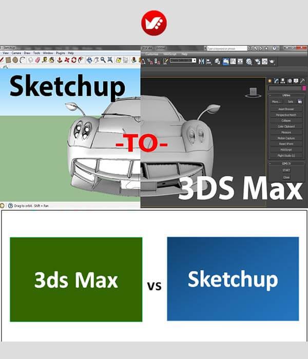 3dmax vs sketchup 26 - اسکچ آپ یا تری دی مکس