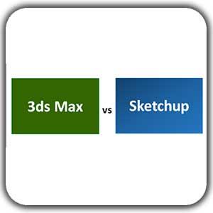3dmax vs sketchup p shakhes 8974 - دکوراسیون داخلی منزل