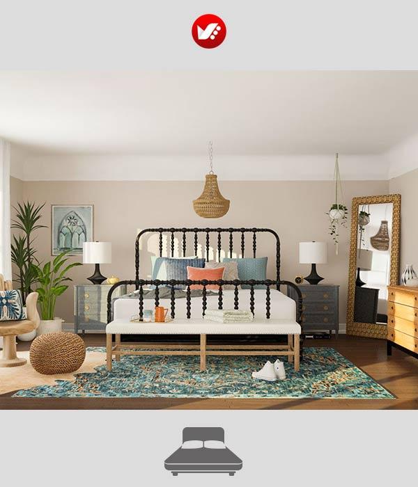 bedroom otagh khab 07 - 10 وسیله ضروری اتاق خواب