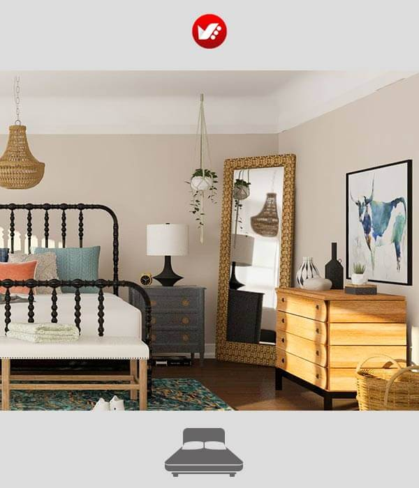 bedroom otagh khab 09 - 10 وسیله ضروری اتاق خواب