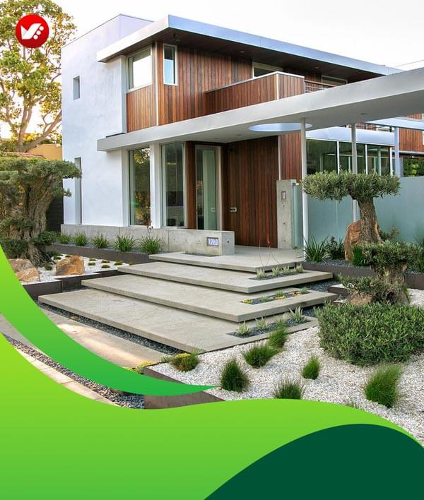 lanscape design 02 - طراحی لند اسکیپ برای باغ و فضاهای سبز مسکونی
