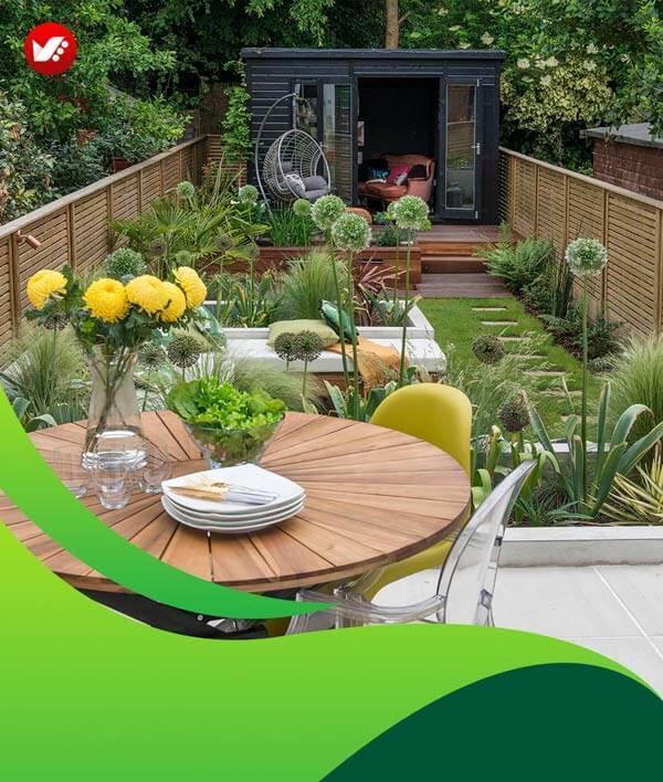 lanscape design 115 - طراحی لند اسکیپ برای باغ و فضاهای سبز مسکونی
