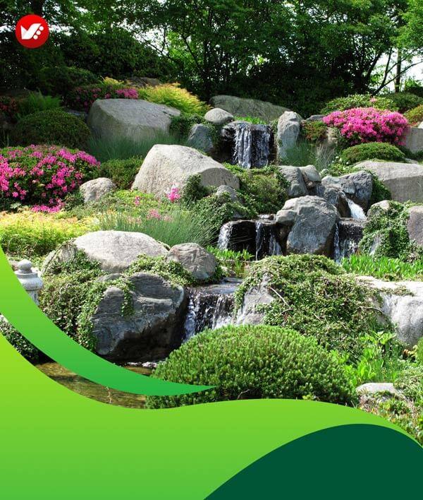 lanscape design 125 - طراحی لند اسکیپ برای باغ و فضاهای سبز مسکونی