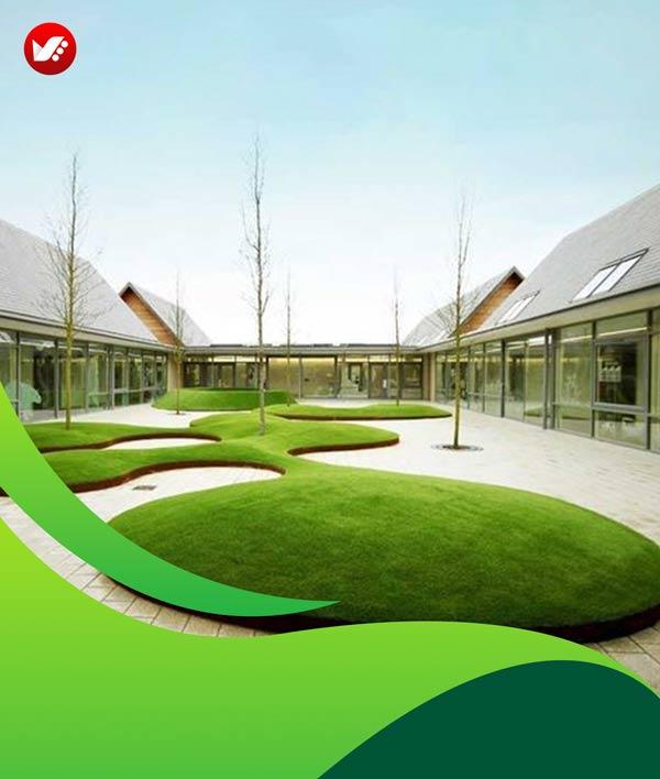 lanscape design 127 - طراحی لند اسکیپ برای باغ و فضاهای سبز مسکونی