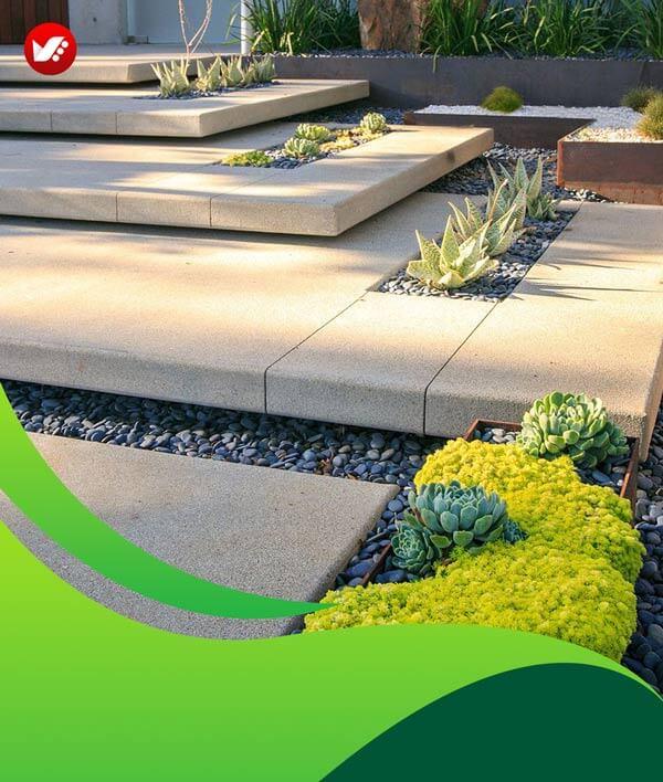 lanscape design 128 - طراحی لند اسکیپ برای باغ و فضاهای سبز مسکونی