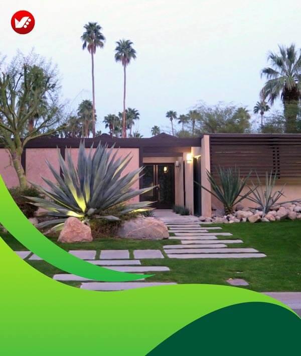 lanscape design 130 - طراحی لند اسکیپ برای باغ و فضاهای سبز مسکونی