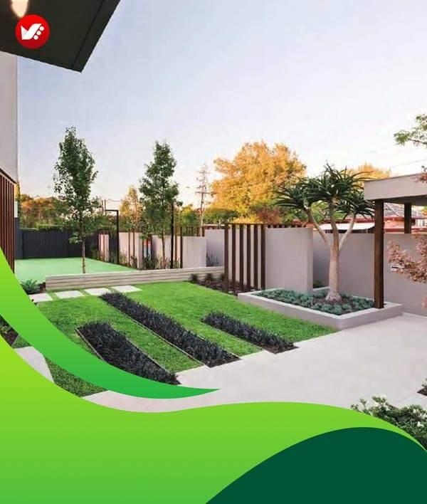 lanscape design 131 - طراحی لند اسکیپ برای باغ و فضاهای سبز مسکونی
