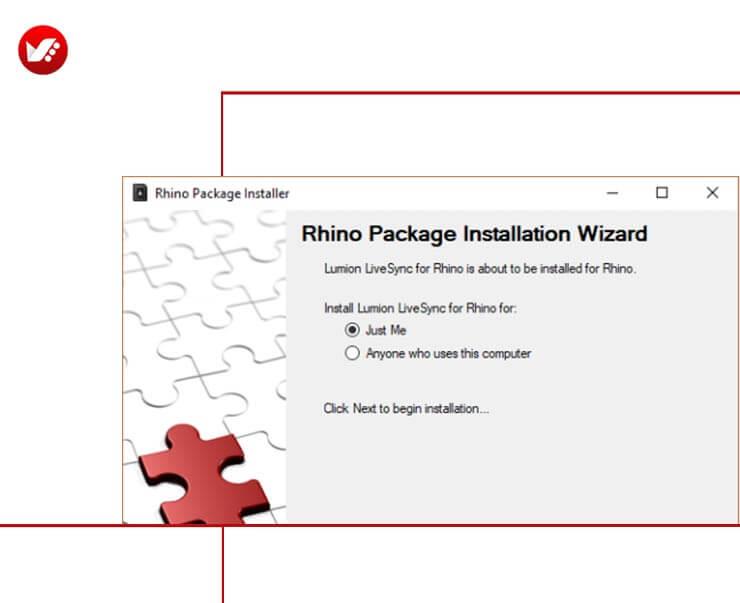 LiveSync For Rhino 08 - LiveSync For Rhino رابطی برای راینو و لومیون