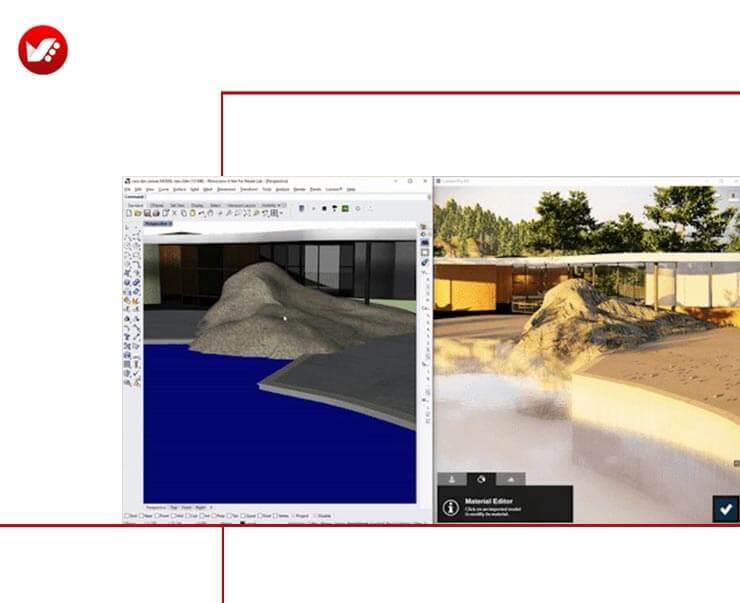 LiveSync For Rhino 12 - LiveSync For Rhino رابطی برای راینو و لومیون