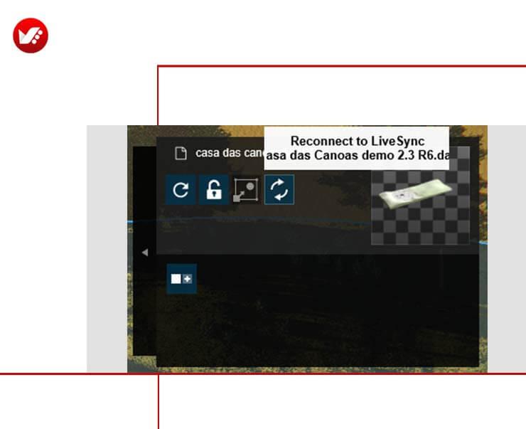 LiveSync For Rhino 16 - LiveSync For Rhino رابطی برای راینو و لومیون