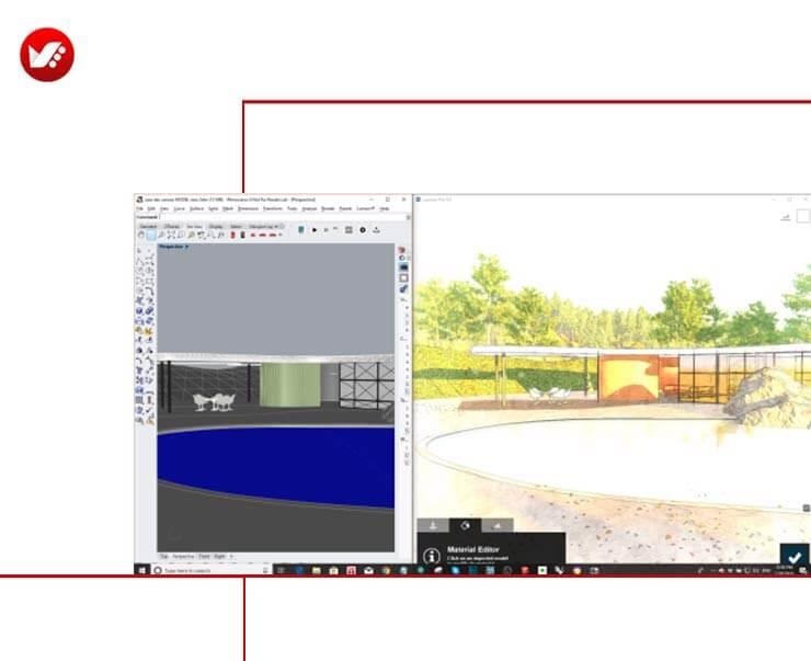 LiveSync For Rhino 19 - LiveSync For Rhino رابطی برای راینو و لومیون