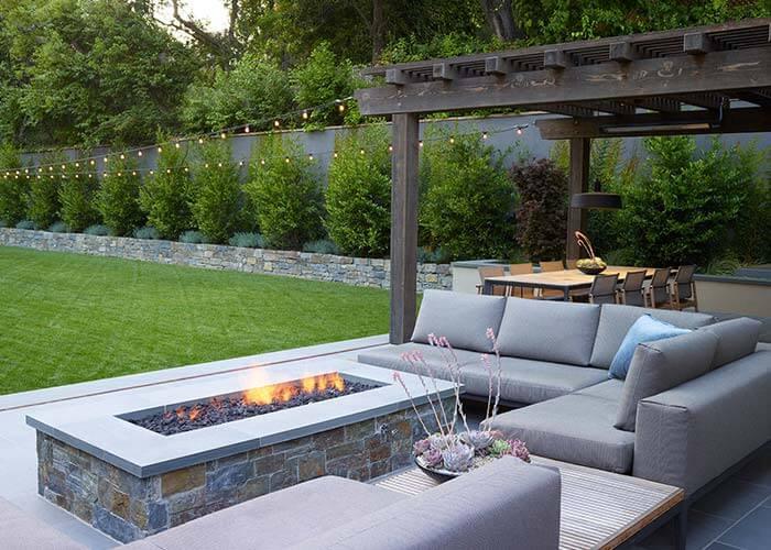 landscape design 14 - طراحی لنداسکیپ برای باغ و فضاهای سبز مسکونی