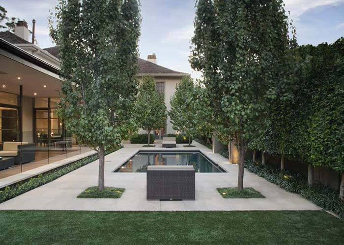 landscape design 15 - طراحی لنداسکیپ برای باغ و فضاهای سبز مسکونی