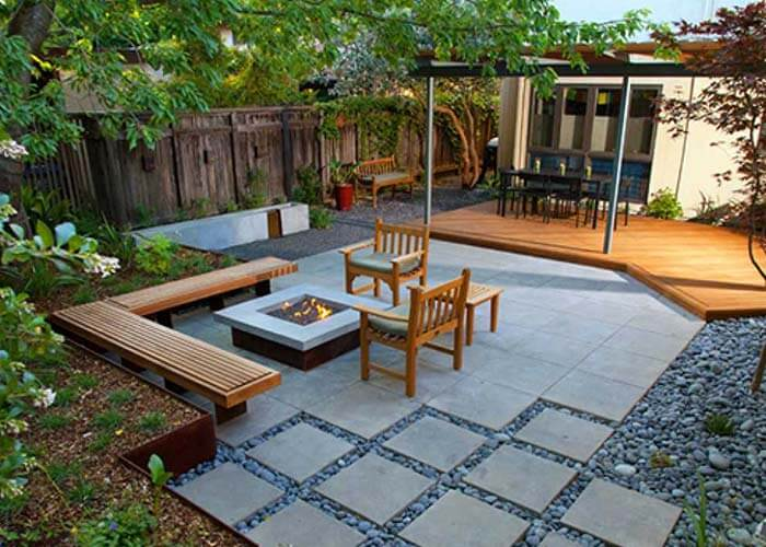 landscape design 17 - طراحی لنداسکیپ برای باغ و فضاهای سبز مسکونی