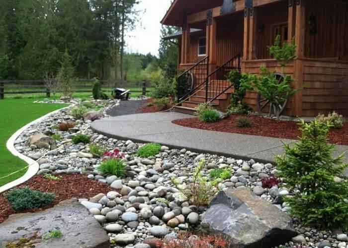 landscape design 27 - طراحی لنداسکیپ برای باغ و فضاهای سبز مسکونی